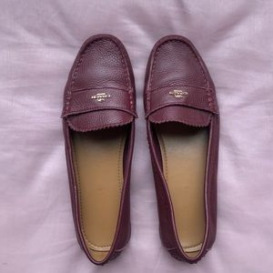 Coach Marley Leather Loafers
